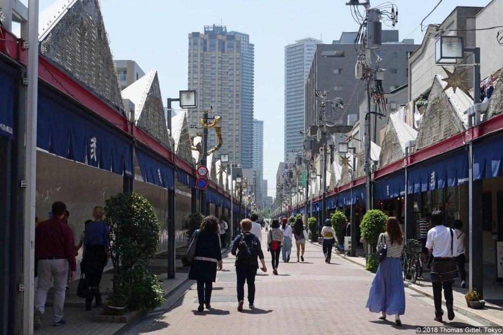Exkursion: Tokyo Roji Tsukishima - Tokyo Roji ‒ Tsukudajimas Hintergassen zwischen Tradition und Moderne