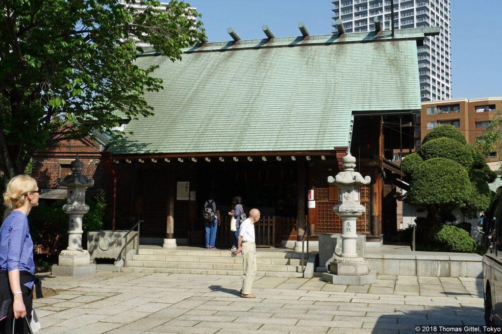 Exkursion: Tokyo Roji Tsukudajima (Sumiyoshi Jinja) - Tokyo Roji ‒ Tsukudajimas Hintergassen zwischen Tradition und Moderne