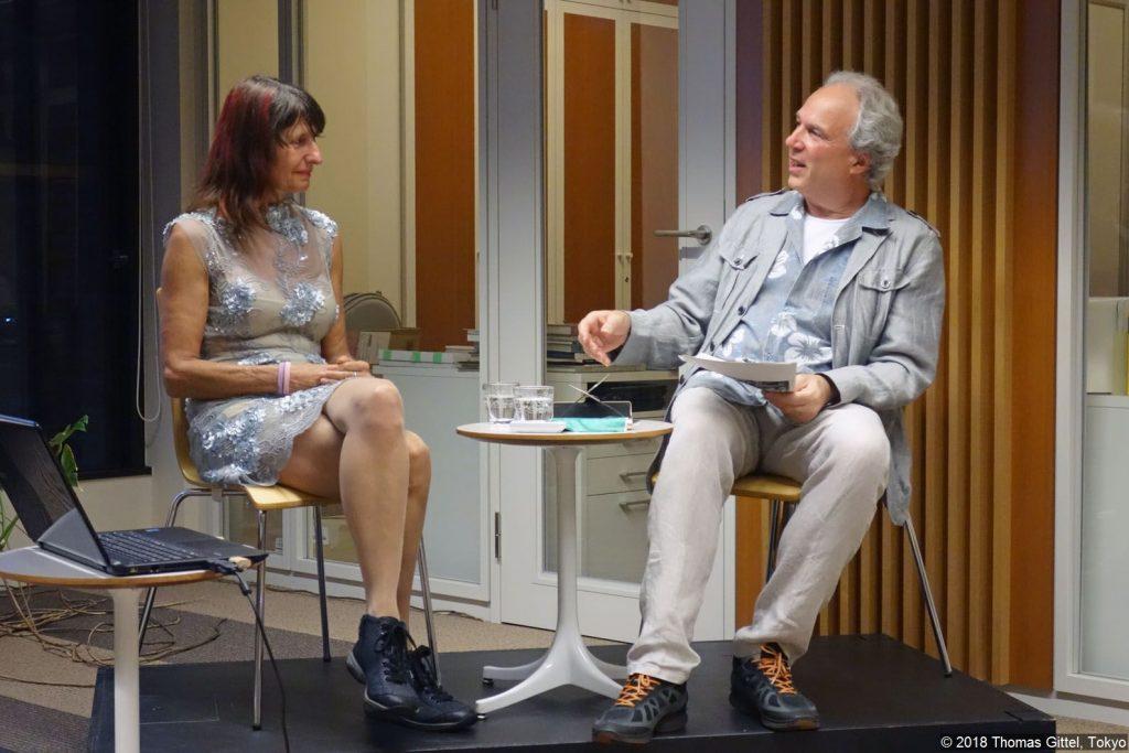 Eva-Maria Horstick im Gespräch mit Renato Pirotta