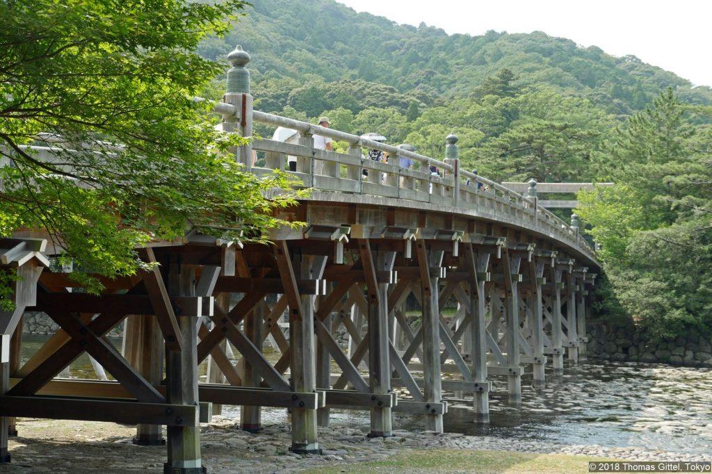 Ise Jingū Naikū (伊勢神宮・内宮) – Ujibashi (宇治橋)