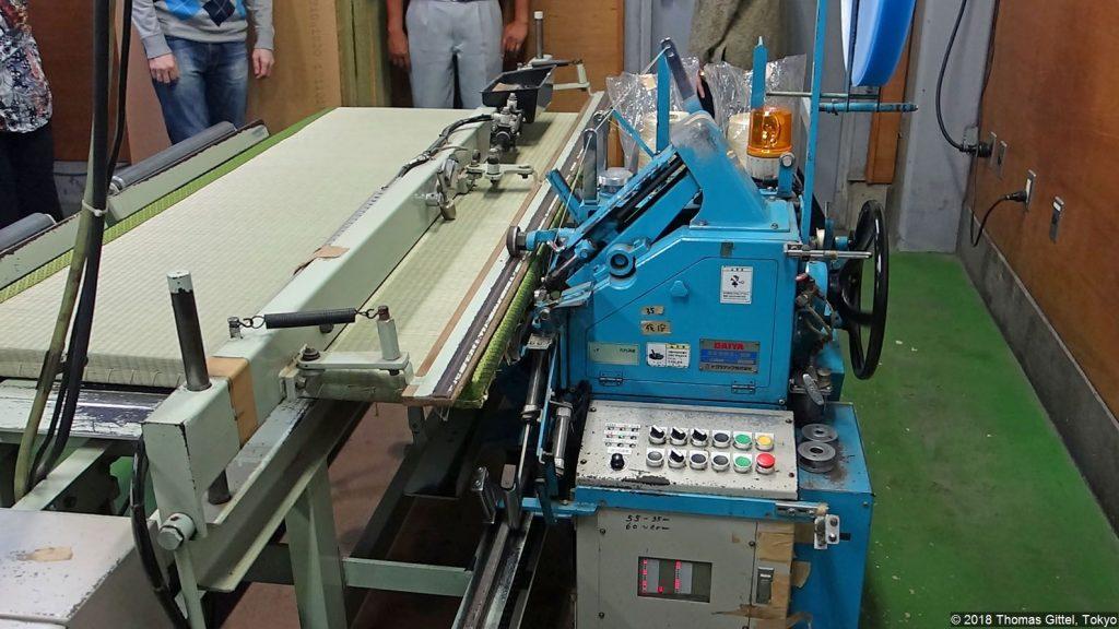 Okada Tatami-Werkstatt, Kawagoe (kaeshi nuiki) - Besichtigung einer Werkstatt für Tatami-Herstellung