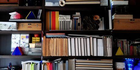 Architektonische Skizzenbuch-Rollen und -Blätter von Renato A. Pirotta
