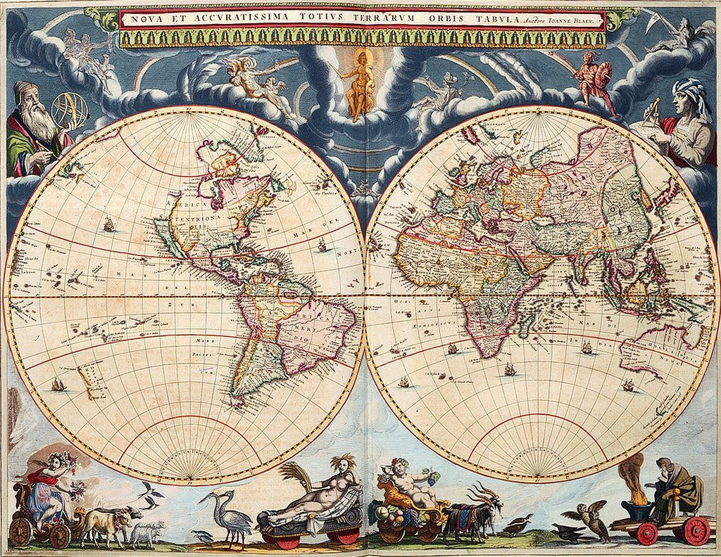 World map from Blaeu Atlas_1024x792px