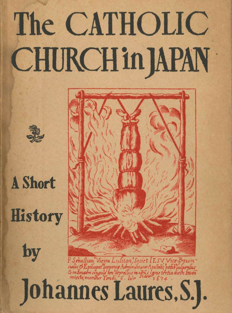 Johannes Laures The Catholic Church in Japan Cover