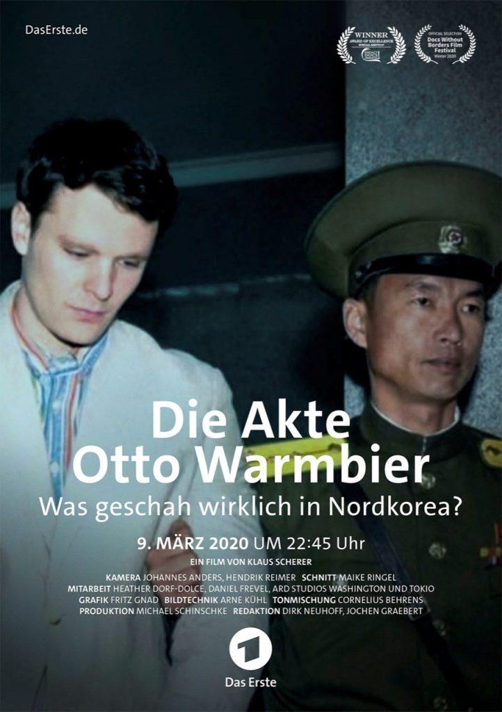 Die Akte Otto Warmbier Poster mit Nominierungen
