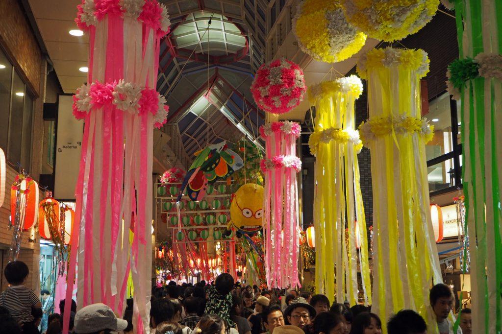 - Tanabata - das Sternenfest. Impressionen aus Asagaya/Tokyo