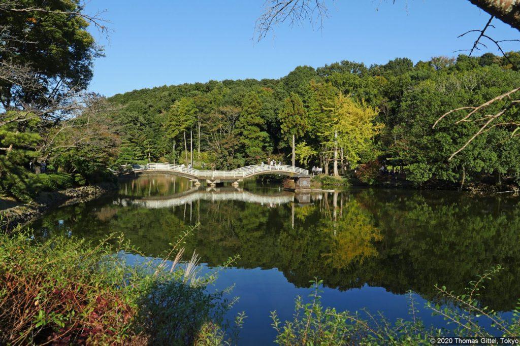 Yakushi'ike Kōen (薬師池公園) - Besichtigung des Buaisō in Tsurukawa bei Machida und Spaziergang durch den Yakushi'ike-Park