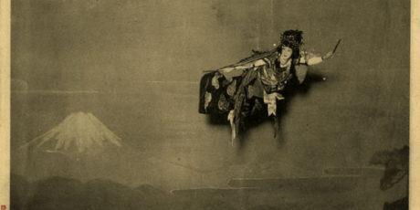 """Dr. Annegret Bergmann: """"Traditioneller Malstil ist nicht geeignet – Maler auf der japanischen Bühne"""""""