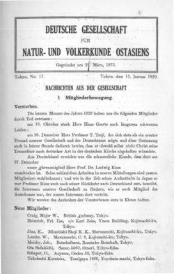 NOAG No. 17 (15. Januar 1929)
