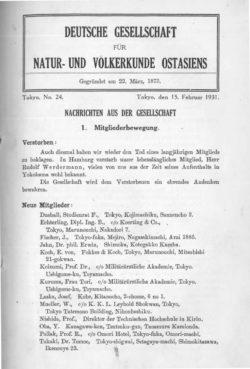 NOAG No. 24 (15. Februar 1931)