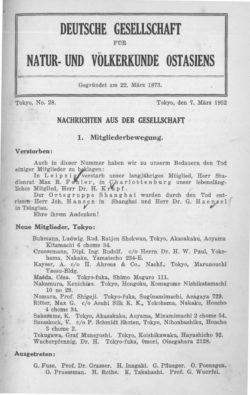 NOAG No. 28 (7. März 1932)