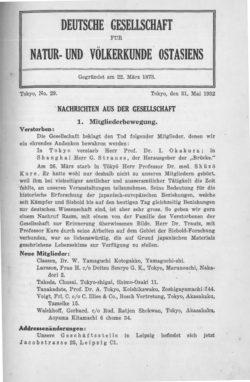 NOAG No. 29 (31. Mai 1932)