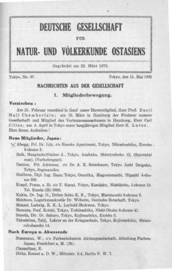 NOAG No. 37 (15. Mai 1935)