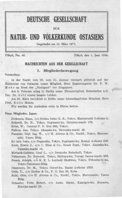 NOAG No. 40 (1. Juni 1936)