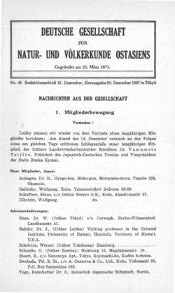 NOAG No. 45 (30. Dezember 1937)