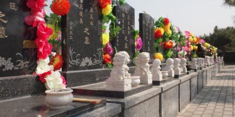 """Maja Linnemann: """"Friedhofskultur in China. Ein Spaziergang über einige ausgewählte Friedhöfe in der Hauptstadt Beijing"""""""