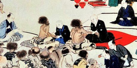 """Uwe Makino: """"Kolonialpolitik oder Koalition der Vernunft? Zu den Pockenimpfungen an den Ainu  (Hokkaidō 1857/58)"""""""